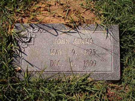 ADAMS, JOHN - Dallas County, Arkansas | JOHN ADAMS - Arkansas Gravestone Photos