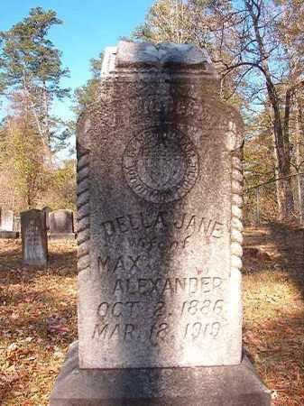 ALEXANDER, DELLA JANE - Dallas County, Arkansas | DELLA JANE ALEXANDER - Arkansas Gravestone Photos