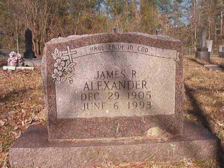 ALEXANDER, JAMES R - Dallas County, Arkansas | JAMES R ALEXANDER - Arkansas Gravestone Photos