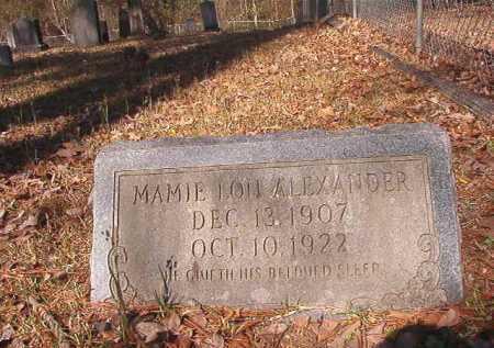 ALEXANDER, MAMIE LOU - Dallas County, Arkansas | MAMIE LOU ALEXANDER - Arkansas Gravestone Photos