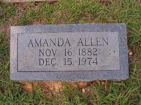 ALLEN, AMANDA - Dallas County, Arkansas | AMANDA ALLEN - Arkansas Gravestone Photos