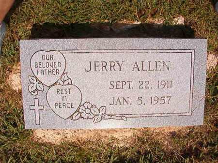ALLEN, JERRY - Dallas County, Arkansas | JERRY ALLEN - Arkansas Gravestone Photos