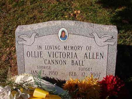 ALLEN, OLLIE VICTORIA - Dallas County, Arkansas | OLLIE VICTORIA ALLEN - Arkansas Gravestone Photos