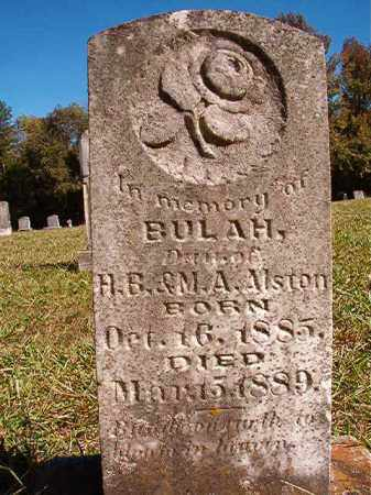 ALSTON, BULAH - Dallas County, Arkansas   BULAH ALSTON - Arkansas Gravestone Photos