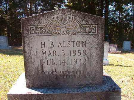 ALSTON, HENRY B - Dallas County, Arkansas   HENRY B ALSTON - Arkansas Gravestone Photos
