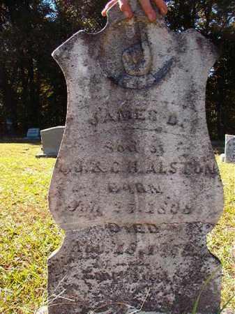 ALSTON, JAMES D - Dallas County, Arkansas | JAMES D ALSTON - Arkansas Gravestone Photos