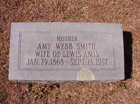 SMITH AMIS, AMY WEBB - Dallas County, Arkansas | AMY WEBB SMITH AMIS - Arkansas Gravestone Photos