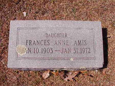 AMIS, FRANCES ANNE - Dallas County, Arkansas | FRANCES ANNE AMIS - Arkansas Gravestone Photos