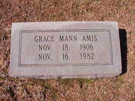 MANN AMIS, GRACE - Dallas County, Arkansas | GRACE MANN AMIS - Arkansas Gravestone Photos