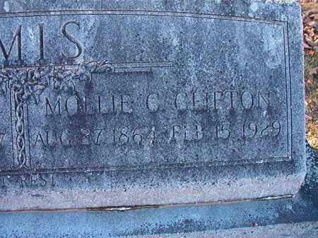 CLIFTON AMIS, MOLLIE C - Dallas County, Arkansas   MOLLIE C CLIFTON AMIS - Arkansas Gravestone Photos