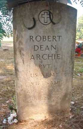 ARCHIE (VETERAN VIET), ROBERT DEAN - Dallas County, Arkansas | ROBERT DEAN ARCHIE (VETERAN VIET) - Arkansas Gravestone Photos