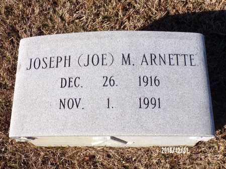 ARNETTE, JOSEPH M - Dallas County, Arkansas | JOSEPH M ARNETTE - Arkansas Gravestone Photos