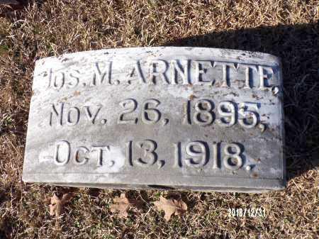 ARNETTE, JOS M - Dallas County, Arkansas | JOS M ARNETTE - Arkansas Gravestone Photos