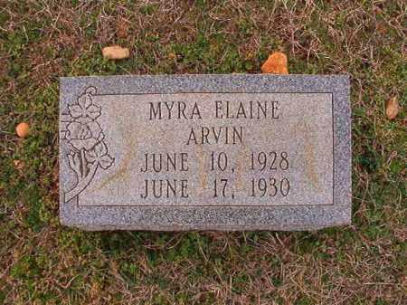 ARVIN, MYRA ELAINE - Dallas County, Arkansas | MYRA ELAINE ARVIN - Arkansas Gravestone Photos