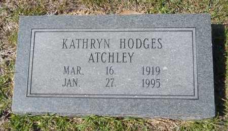 ATCHLEY, KATHRYN - Dallas County, Arkansas | KATHRYN ATCHLEY - Arkansas Gravestone Photos