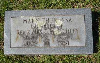 ATCHLEY, MARY THERRESA - Dallas County, Arkansas | MARY THERRESA ATCHLEY - Arkansas Gravestone Photos