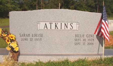 ATKINS, BILLIE GENE - Dallas County, Arkansas | BILLIE GENE ATKINS - Arkansas Gravestone Photos