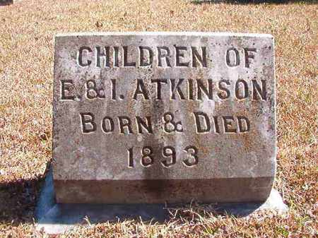 ATKINSON, CHILDREN - Dallas County, Arkansas | CHILDREN ATKINSON - Arkansas Gravestone Photos
