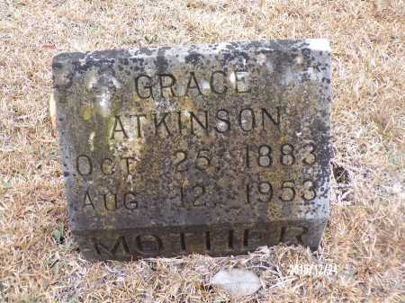 ATKINSON, GRACE - Dallas County, Arkansas | GRACE ATKINSON - Arkansas Gravestone Photos