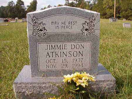 ATKINSON, JIMMIE DON - Dallas County, Arkansas | JIMMIE DON ATKINSON - Arkansas Gravestone Photos