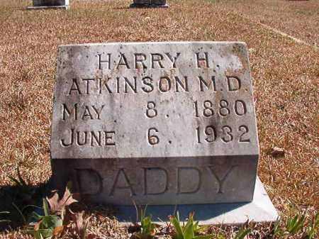 ATKINSON, MD, HARRY H - Dallas County, Arkansas   HARRY H ATKINSON, MD - Arkansas Gravestone Photos