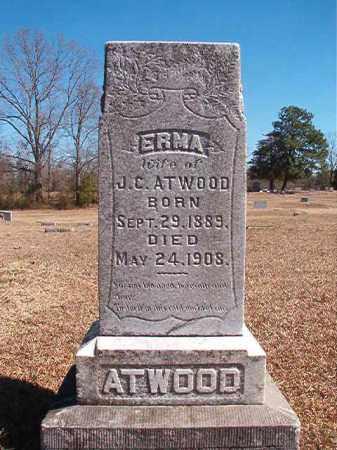 ATWOOD, ERMA - Dallas County, Arkansas | ERMA ATWOOD - Arkansas Gravestone Photos