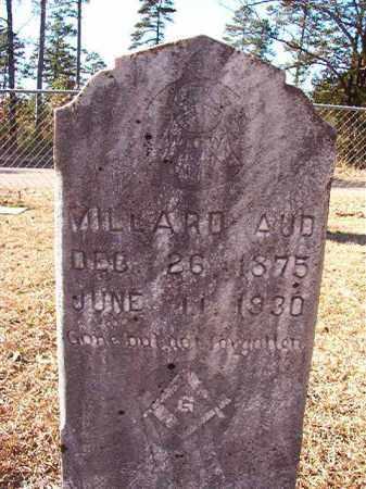 AUD, MILLARD - Dallas County, Arkansas   MILLARD AUD - Arkansas Gravestone Photos