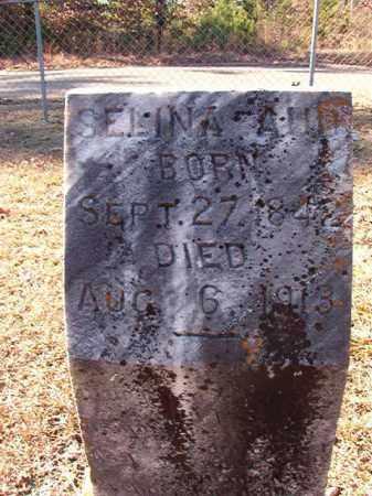AUD, SELINA - Dallas County, Arkansas | SELINA AUD - Arkansas Gravestone Photos