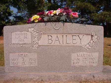BAILEY, MARTHA - Dallas County, Arkansas | MARTHA BAILEY - Arkansas Gravestone Photos