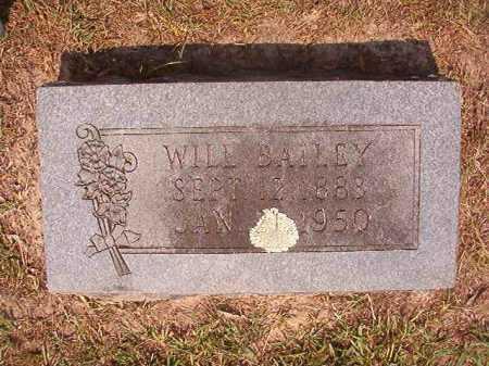 BAILEY, WILL - Dallas County, Arkansas | WILL BAILEY - Arkansas Gravestone Photos