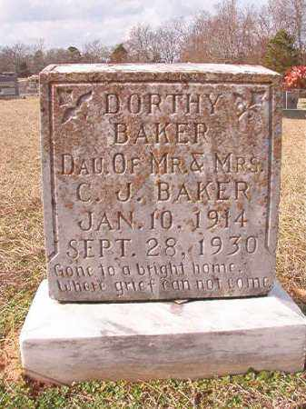 BAKER, DORTHY - Dallas County, Arkansas | DORTHY BAKER - Arkansas Gravestone Photos
