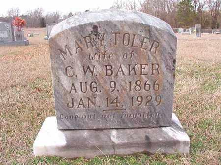 BAKER, MARY - Dallas County, Arkansas | MARY BAKER - Arkansas Gravestone Photos