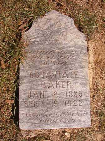 BAKER, OCTAVIA E - Dallas County, Arkansas   OCTAVIA E BAKER - Arkansas Gravestone Photos