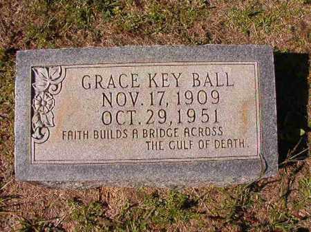KEY BALL, GRACE - Dallas County, Arkansas | GRACE KEY BALL - Arkansas Gravestone Photos