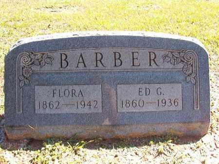 BARBER, ED G - Dallas County, Arkansas | ED G BARBER - Arkansas Gravestone Photos