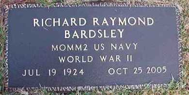 BARDSLEY (VETERAN WWII), RICHARD RAYMOND - Dallas County, Arkansas | RICHARD RAYMOND BARDSLEY (VETERAN WWII) - Arkansas Gravestone Photos