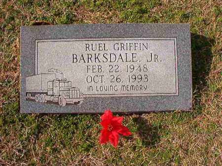 BARKSDALE, JR, RUEL GRIFFIN - Dallas County, Arkansas   RUEL GRIFFIN BARKSDALE, JR - Arkansas Gravestone Photos
