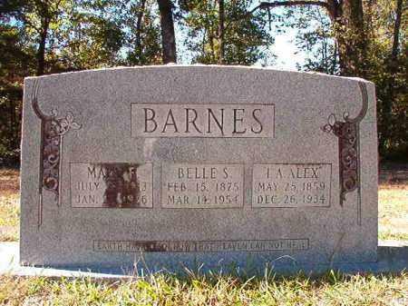 BARNES, BELLE S - Dallas County, Arkansas | BELLE S BARNES - Arkansas Gravestone Photos