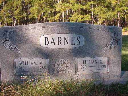 BARNES, WILLIAM V - Dallas County, Arkansas | WILLIAM V BARNES - Arkansas Gravestone Photos