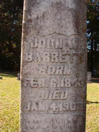 BARRETT, JOHN W (BIO) - Dallas County, Arkansas   JOHN W (BIO) BARRETT - Arkansas Gravestone Photos