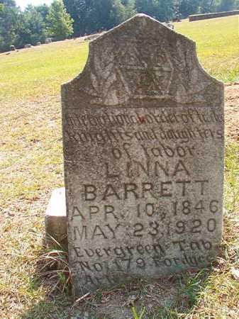 BARRETT, LINNA - Dallas County, Arkansas | LINNA BARRETT - Arkansas Gravestone Photos