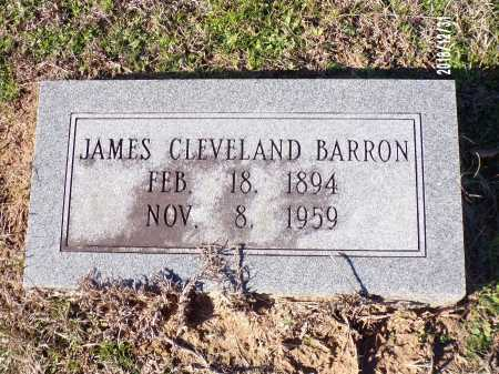 BARRON, JAMES CLEVELAND - Dallas County, Arkansas | JAMES CLEVELAND BARRON - Arkansas Gravestone Photos