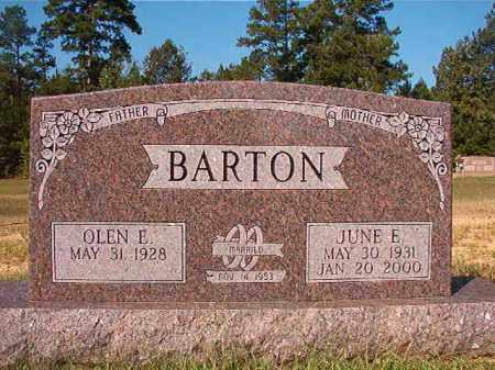 BARTON, JUNE E - Dallas County, Arkansas | JUNE E BARTON - Arkansas Gravestone Photos