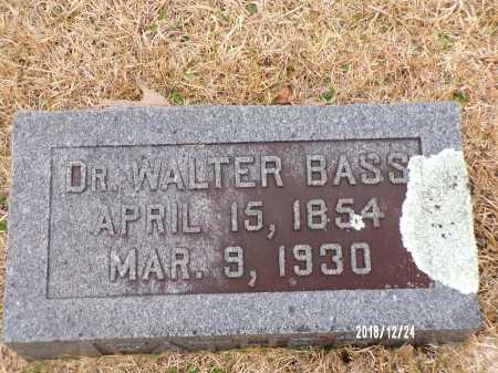 BASS, WALTER, DR - Dallas County, Arkansas | WALTER, DR BASS - Arkansas Gravestone Photos