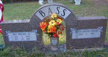 BASS, JR, ROY DOSSON - Dallas County, Arkansas   ROY DOSSON BASS, JR - Arkansas Gravestone Photos