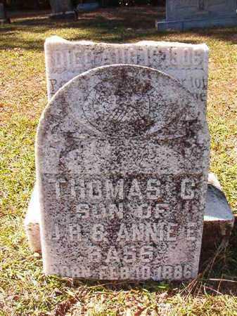 BASS, THOMAS C - Dallas County, Arkansas | THOMAS C BASS - Arkansas Gravestone Photos