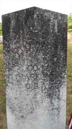 BAUGH (VETERAN CSA), WILLIAM B - Dallas County, Arkansas | WILLIAM B BAUGH (VETERAN CSA) - Arkansas Gravestone Photos