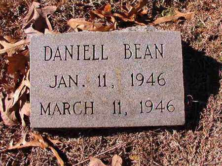 BEAN, DANIELL - Dallas County, Arkansas | DANIELL BEAN - Arkansas Gravestone Photos