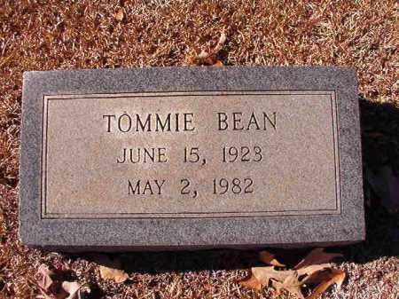 BEAN, TOMMIE - Dallas County, Arkansas | TOMMIE BEAN - Arkansas Gravestone Photos