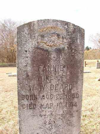 BEARD, FANNIE - Dallas County, Arkansas | FANNIE BEARD - Arkansas Gravestone Photos